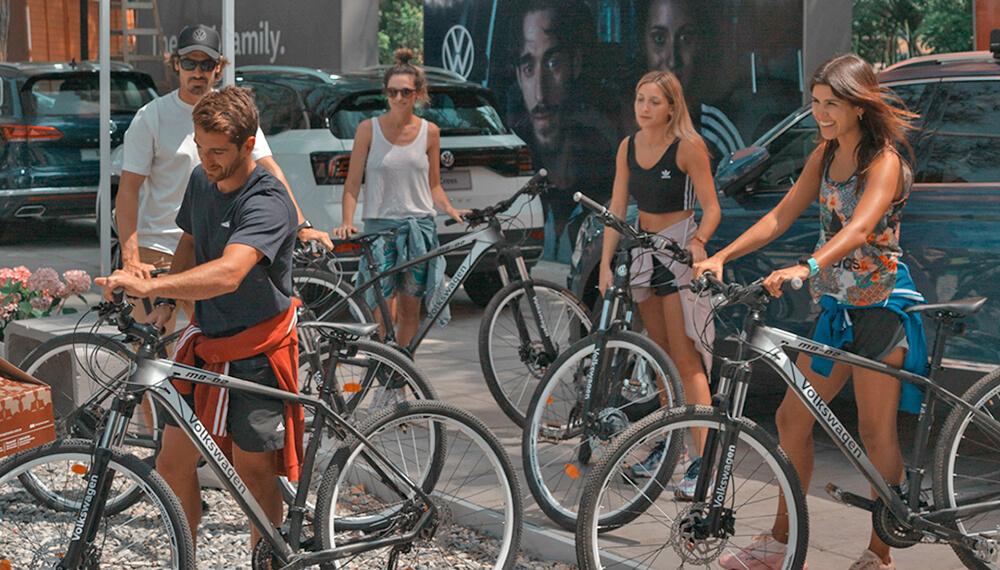 bicicletas jóvenes