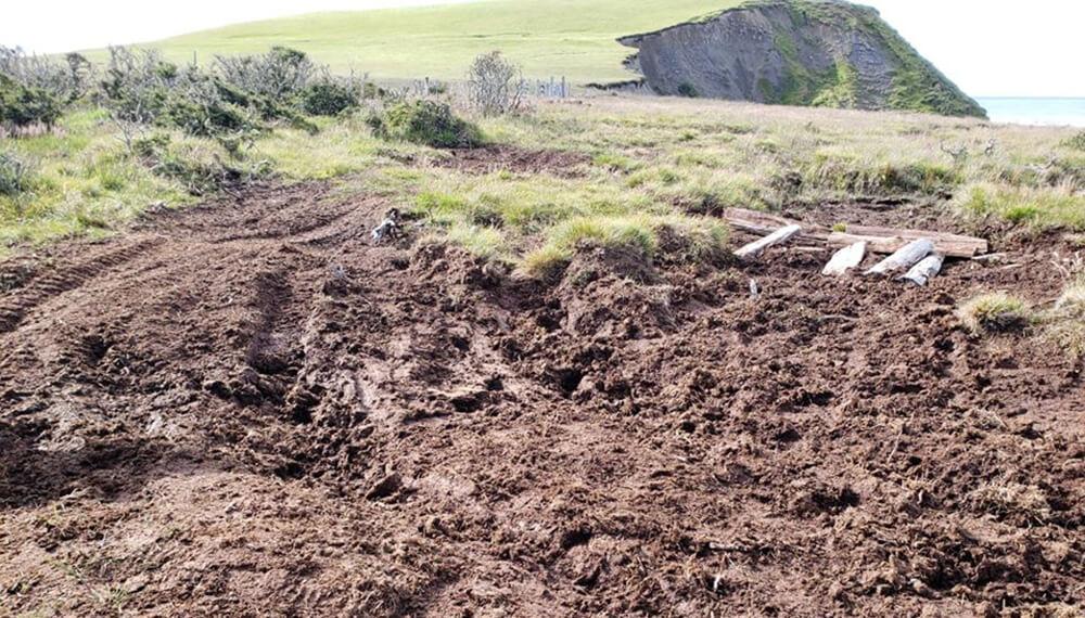daños en península mitre