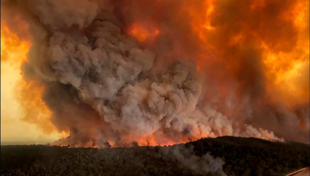Humo Australia Incendios