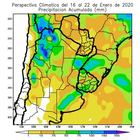 Perspectivas precipitaciones