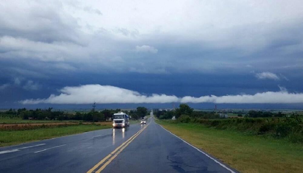 tormenta en provincia de buenos aires