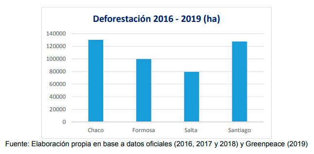 cuadro deforestación noroeste argentino