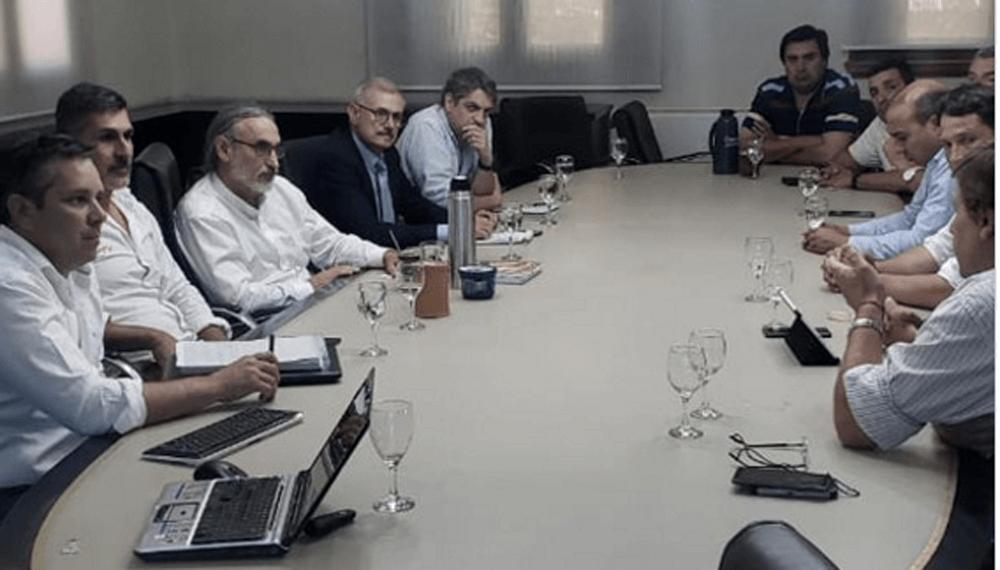Mesa Regional NOA NEA Retenciones Basterra