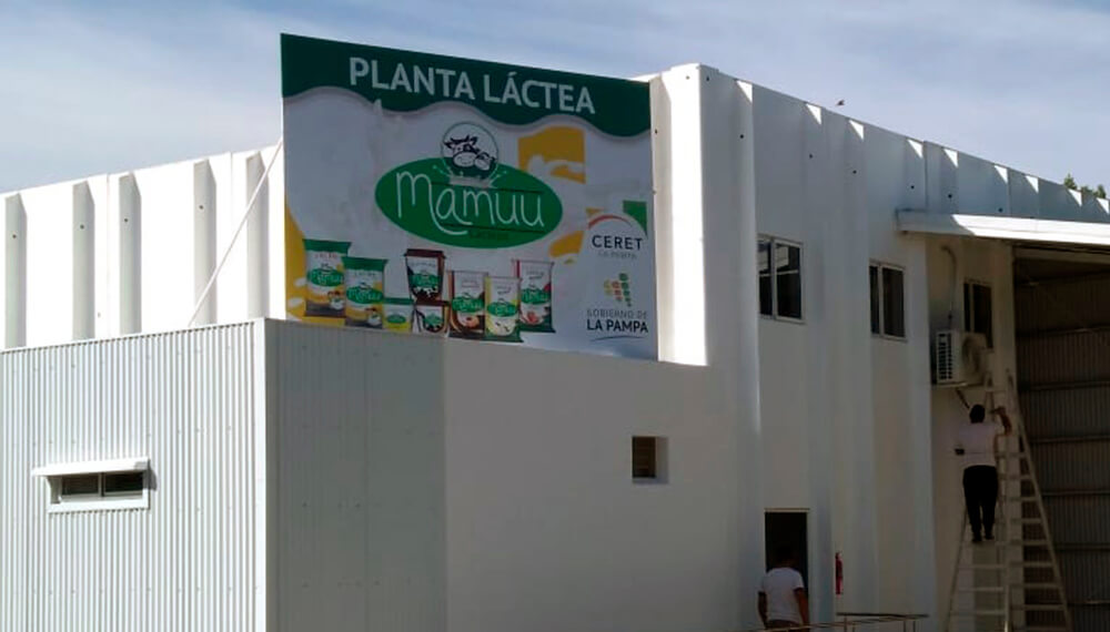 Mamuu planta lactea La Pampa