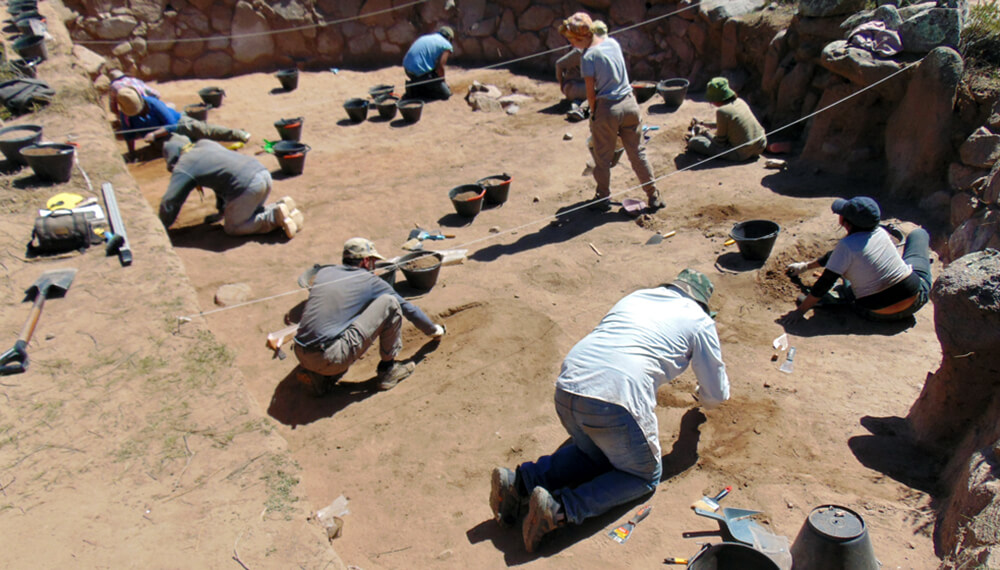 arqueólogos maíz