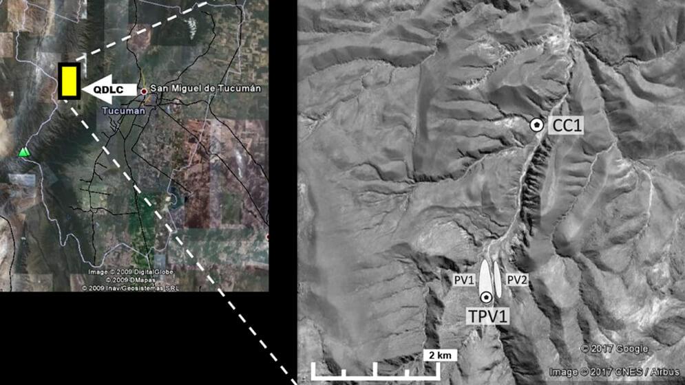 mapa tucumán