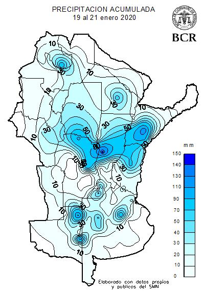 mapa precipitaciones