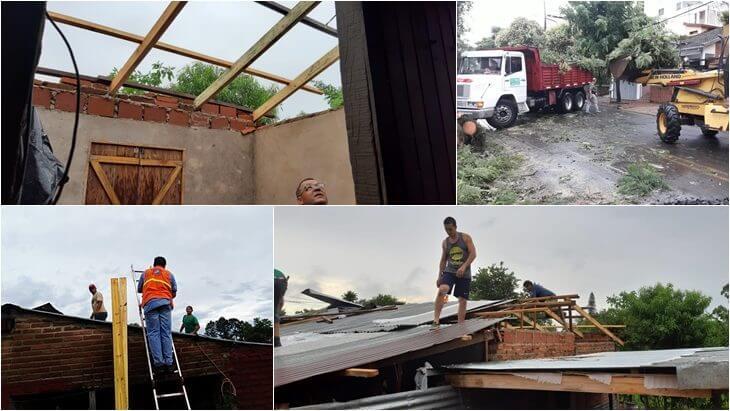 temporal misiones casas destrozadas anegamientos