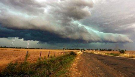 lluvias tormenta campo