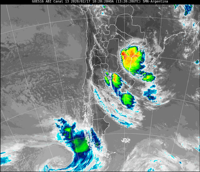 imagen satelital del 17 de febrero
