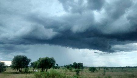 tormenta en el campo