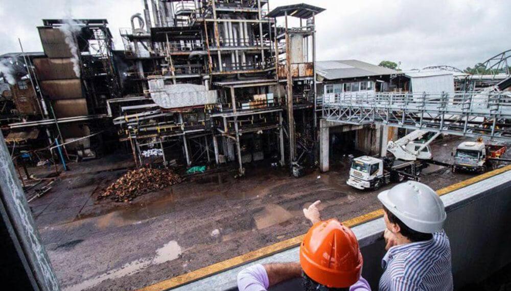 central de biomasa en chaco