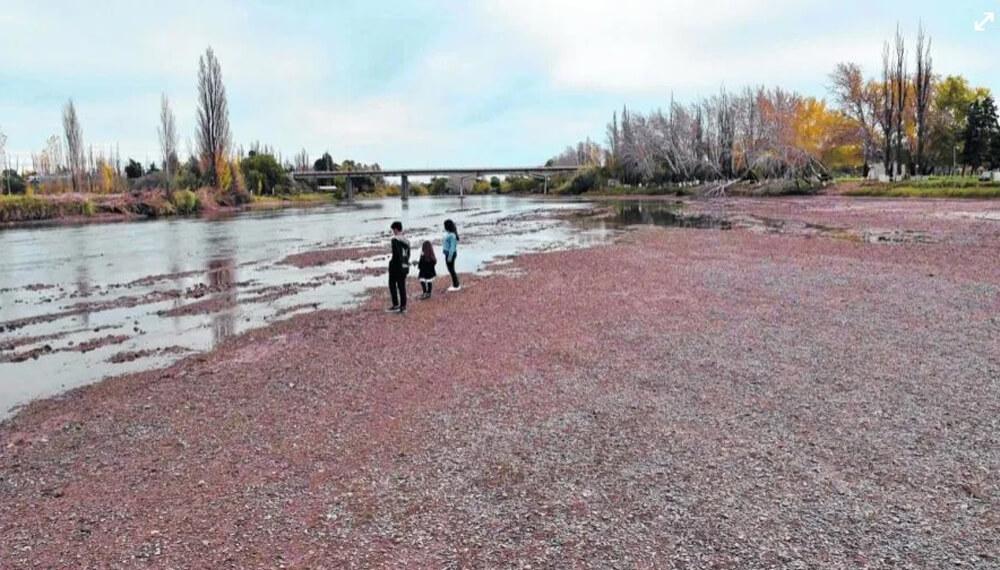 Río Colorado seco, Río Negro