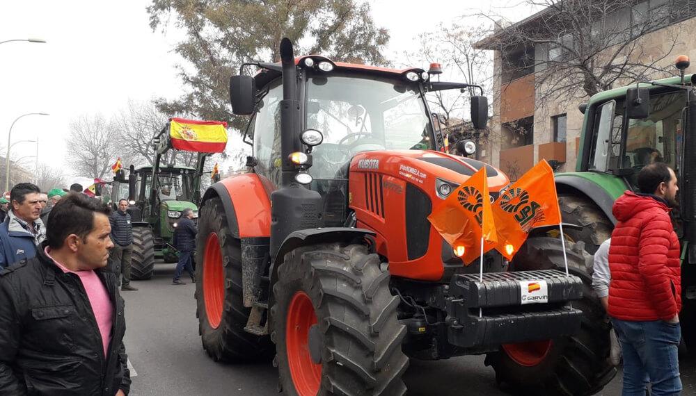 tractorazo España infocampo