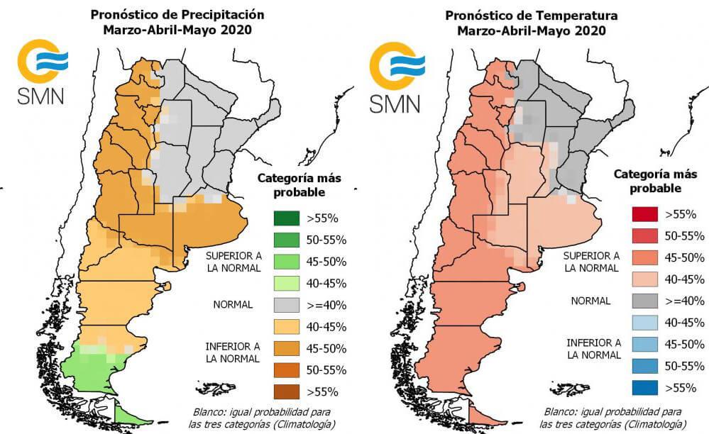 Clima - Lluvias - Marzo -Abril-Mayo 2020