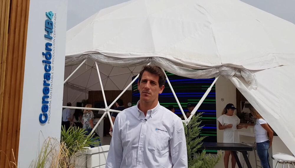 Expoagro 2020 - Generación HB4 - Rodrigo López, gerente de administración y finanzas de Bioceres S y Rizobacter