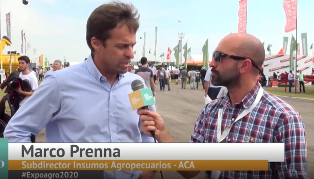 Expoagro 2020 - Marco Prenna - Subdirector de Insumos Agropecuarios
