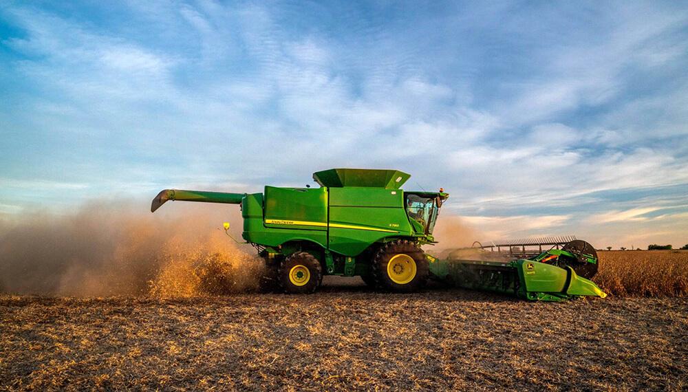 cosechadora s700