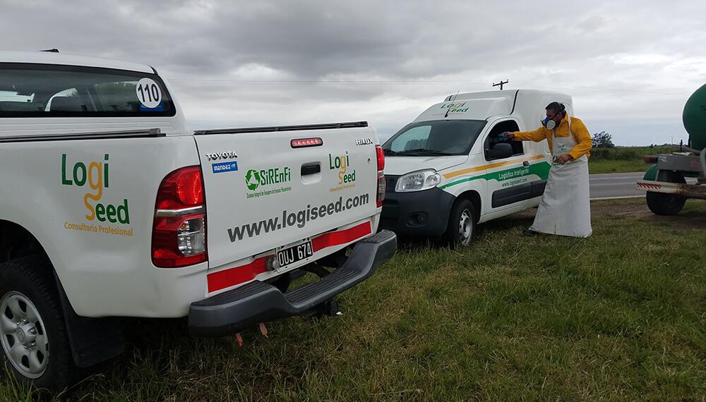 vehículos de logiseed
