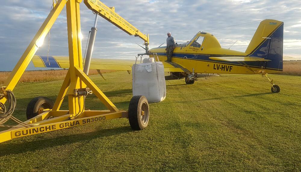 siembra aerea aviones infocampo