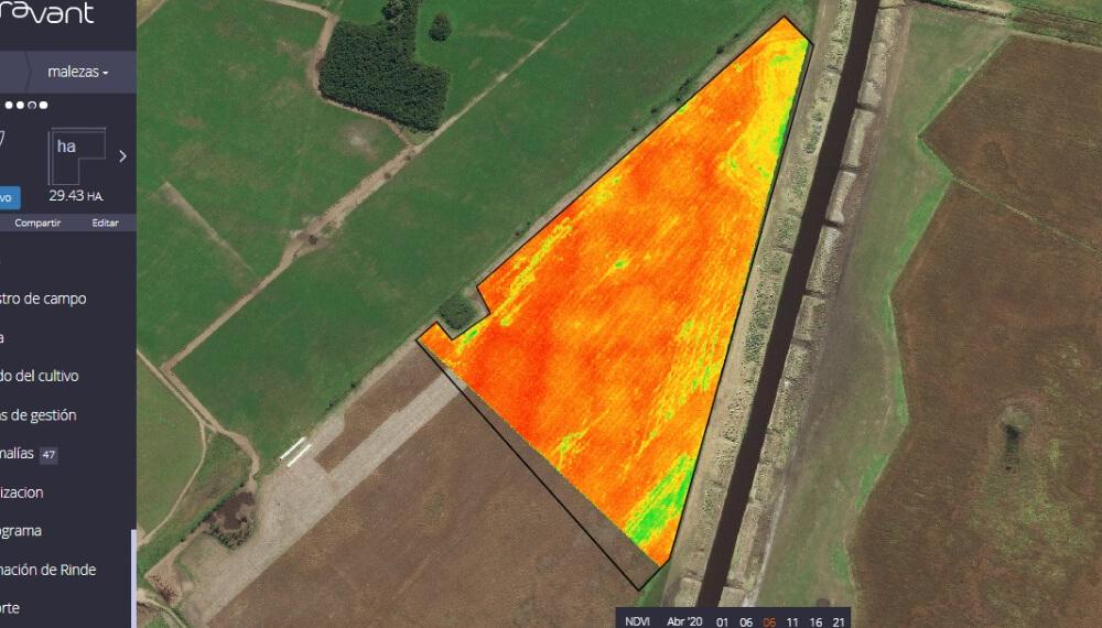 Drones - Imagen satelital