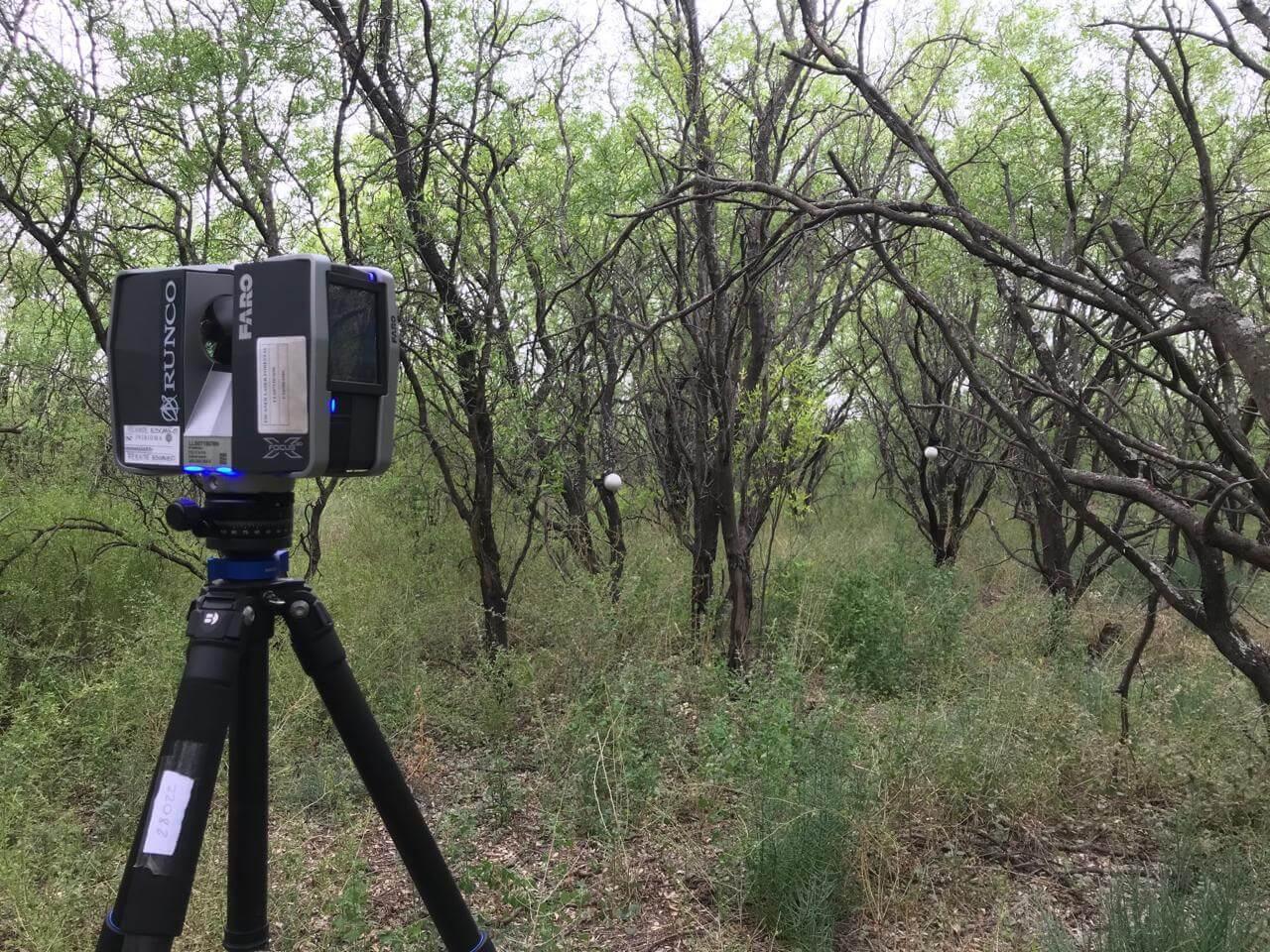 escáner láser terrestre