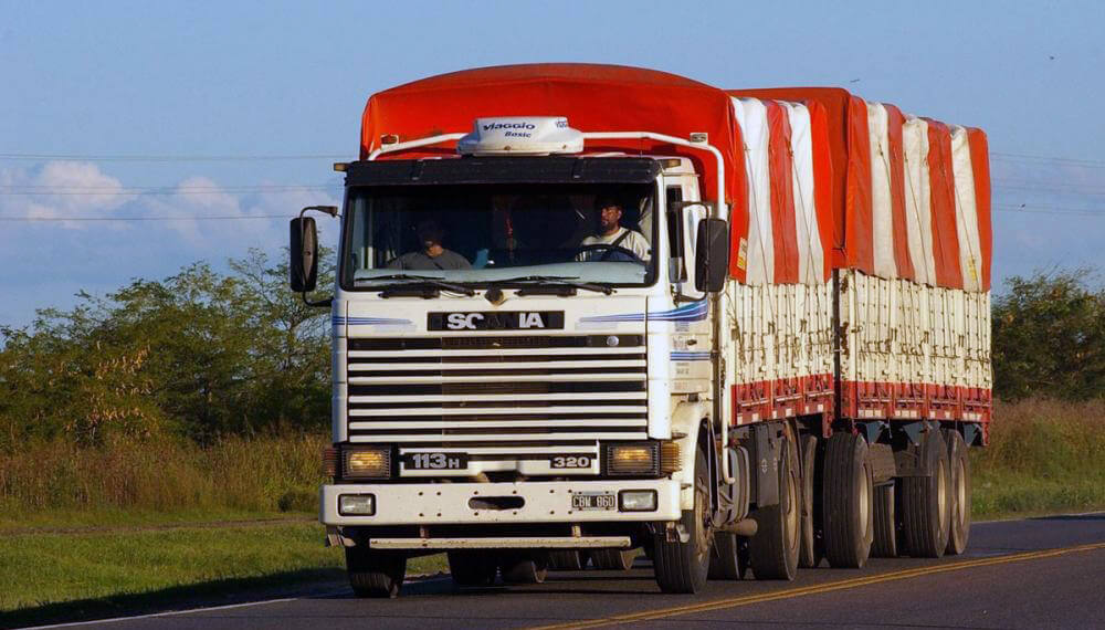 camion ruta