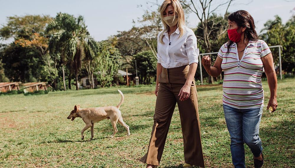 fabiola yañez mujeres rurales