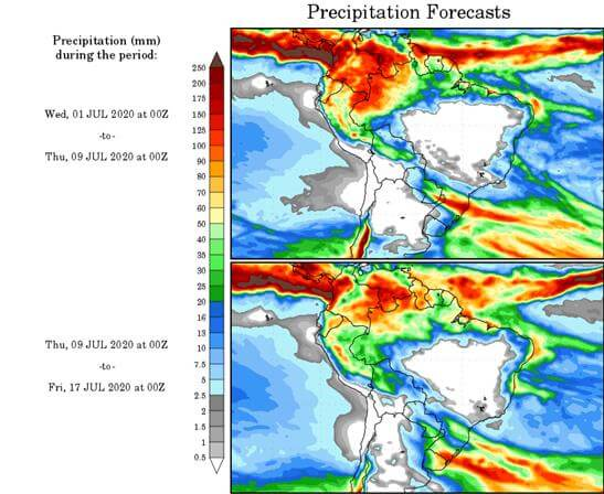 Clima - Hasta el 17 de julio