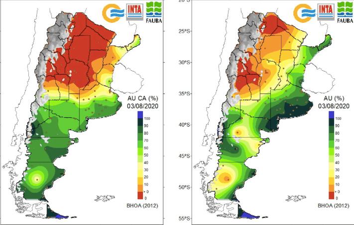 Balance de agua en el suelo - INTA - 200803