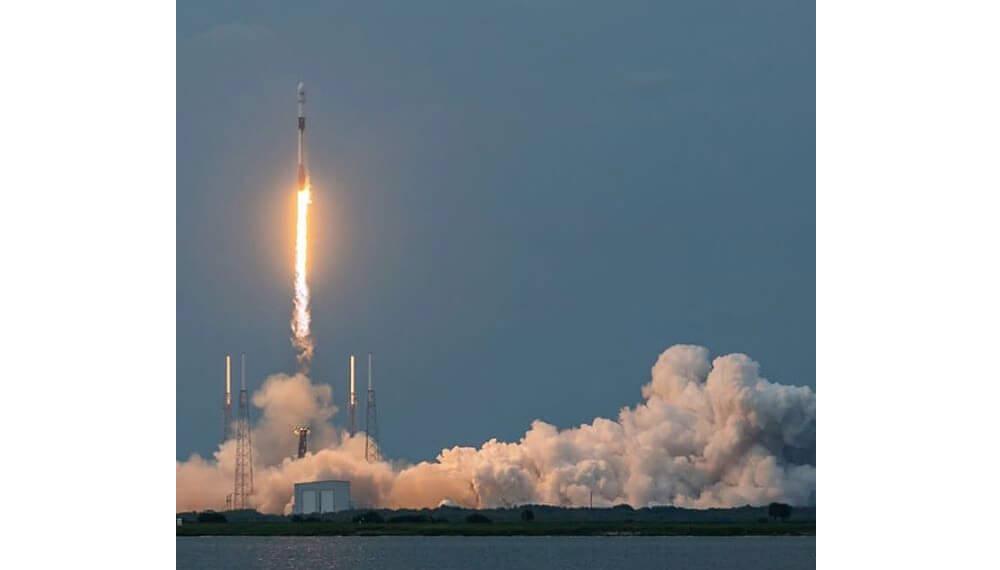 Despegue del satélite Saocom 1B