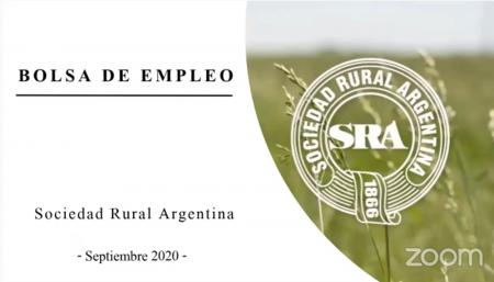 bolsa de trabajo sociedad rural