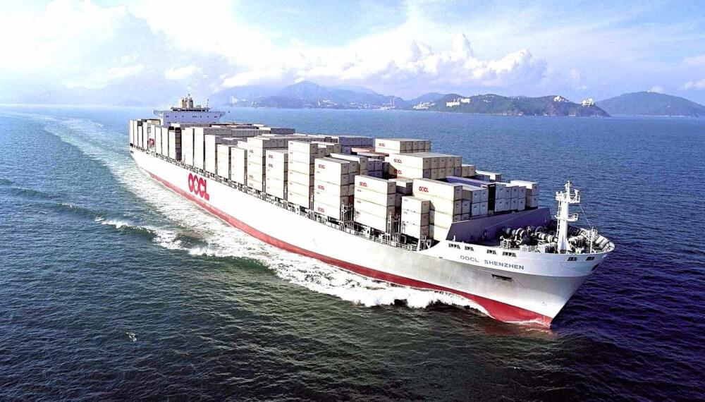 Barco de exportaciones de carne - Brasil