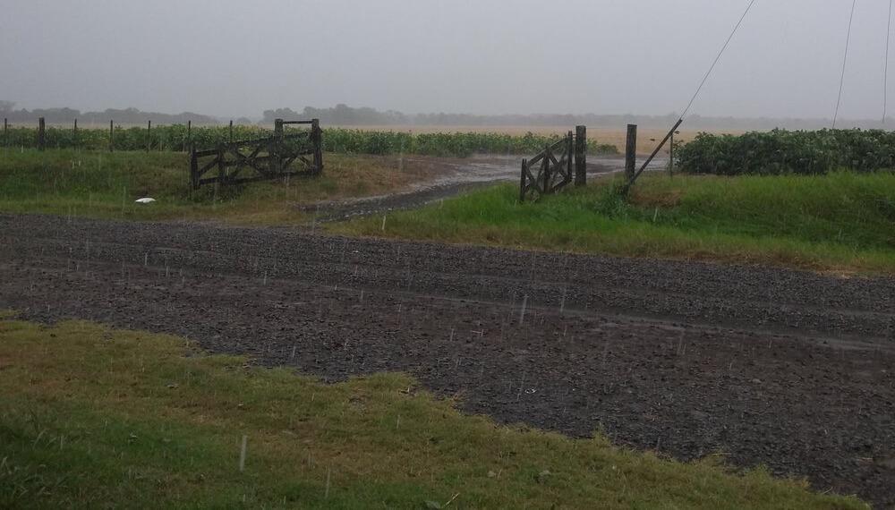 Tiempo de lluvias - Campo