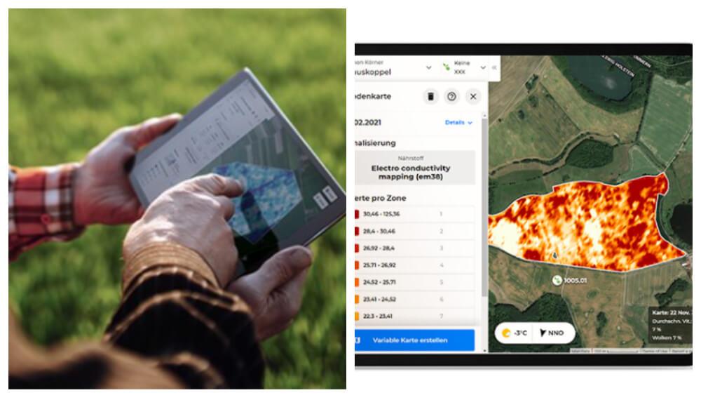 SkyFLD la plataforma de Helm de agricultura de precision