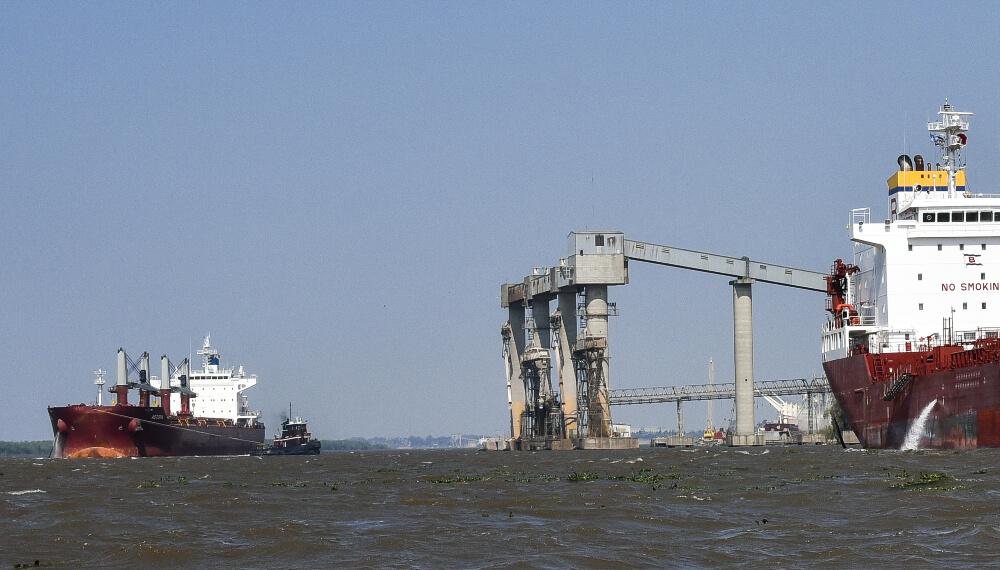 Hidrovia - Exportaciones - Puerto de Rosario