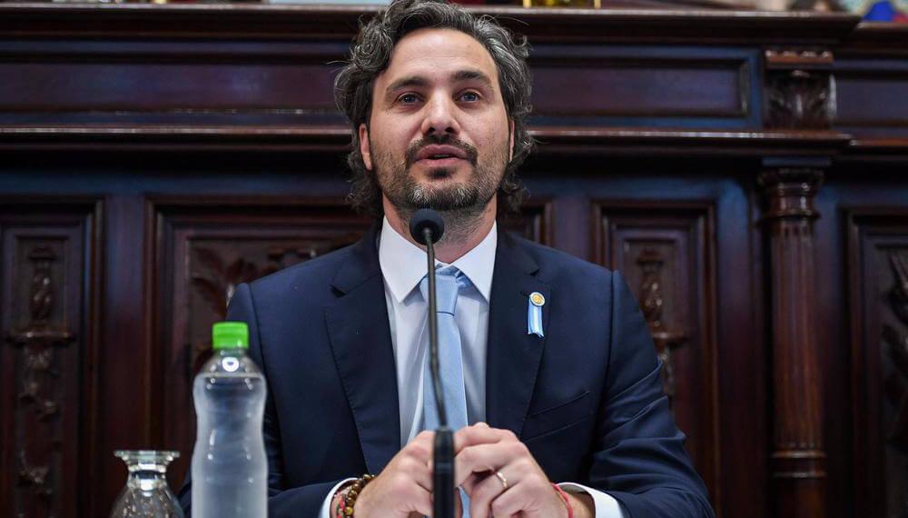 Santiago Cafiero Senado