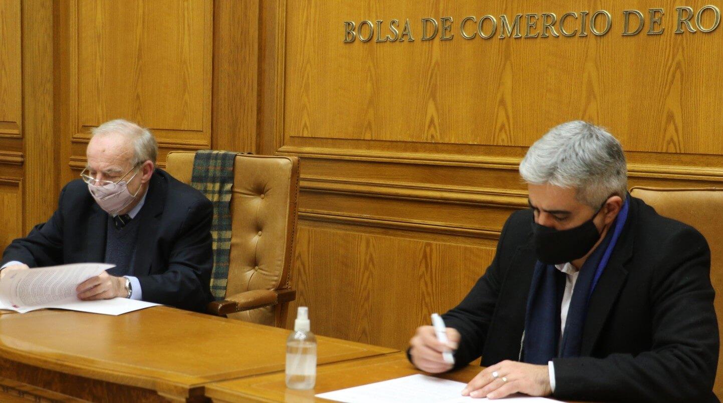 Firma de acuerdo BCR - UNR