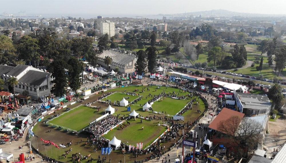 Imagen aerea de la feria Expo Prado - URU