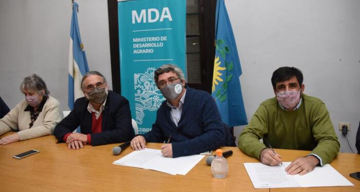 Firma acuerdo entre INASA y la PBA