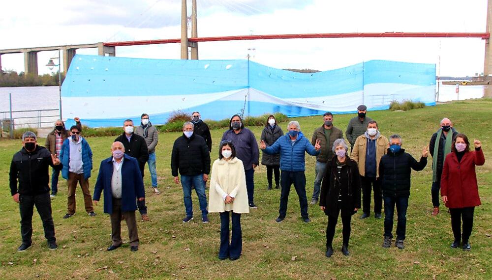 El Grupo 25 de Mayo se refirió a la Hidrovía