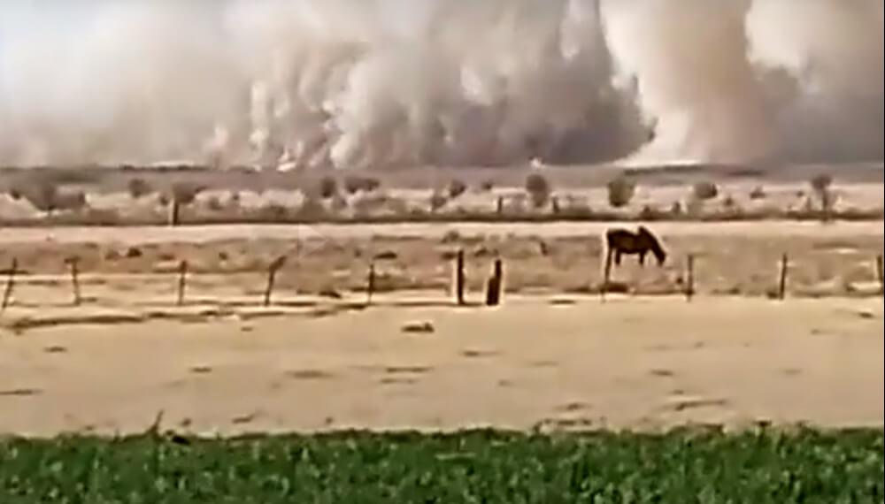 Incendios en campos de Cordoba