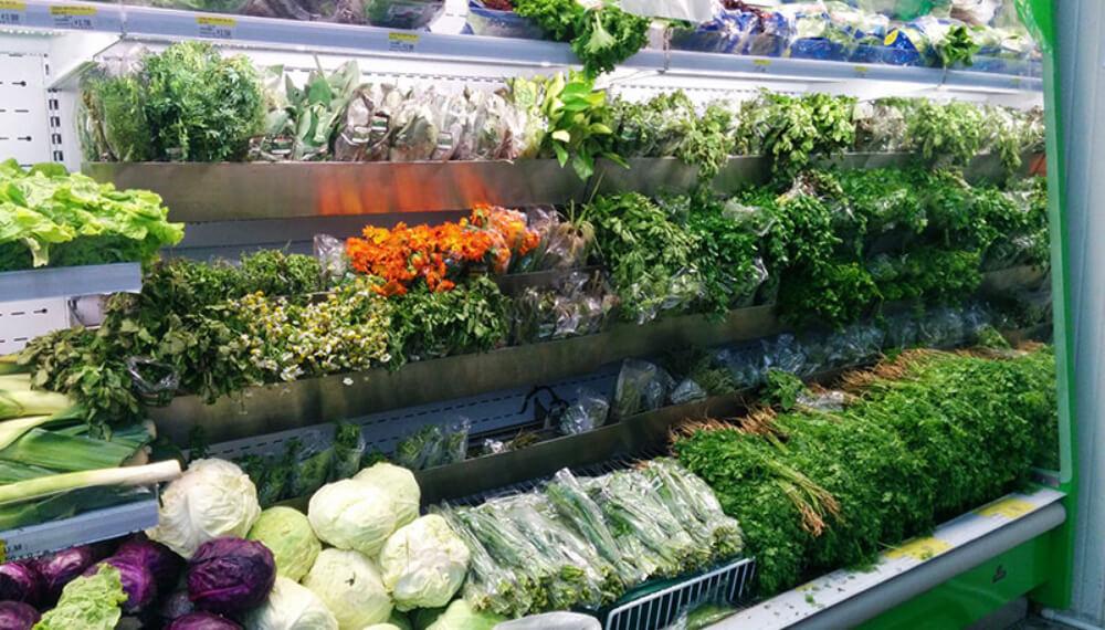 hierbas supermercado