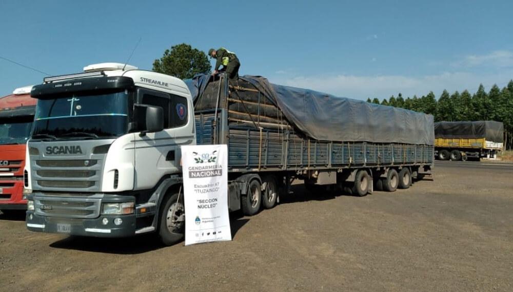 soja camion ruta 12