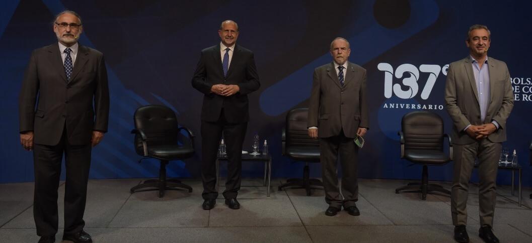 izq a der: Basterra, Perotti, Nasini, Jatkin