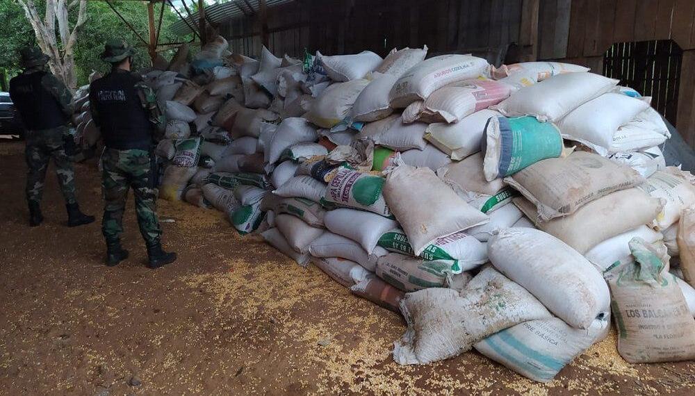 Contrabando de maíz