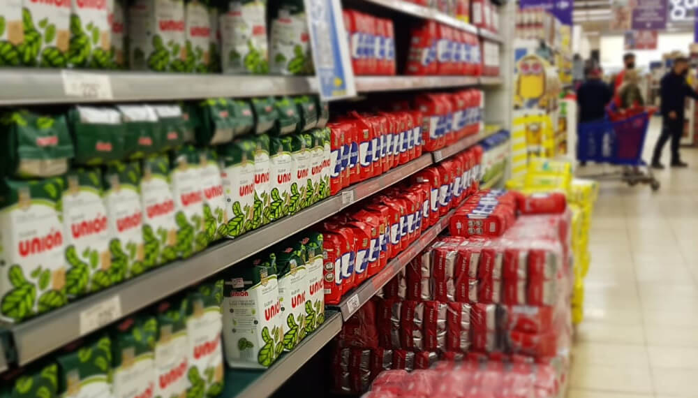 Gondola de supermercado - Precios