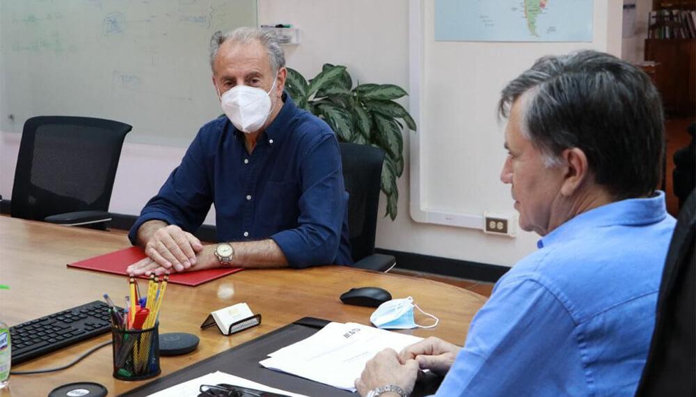 IICA-Cancillería: reunión entre Neme y Otero