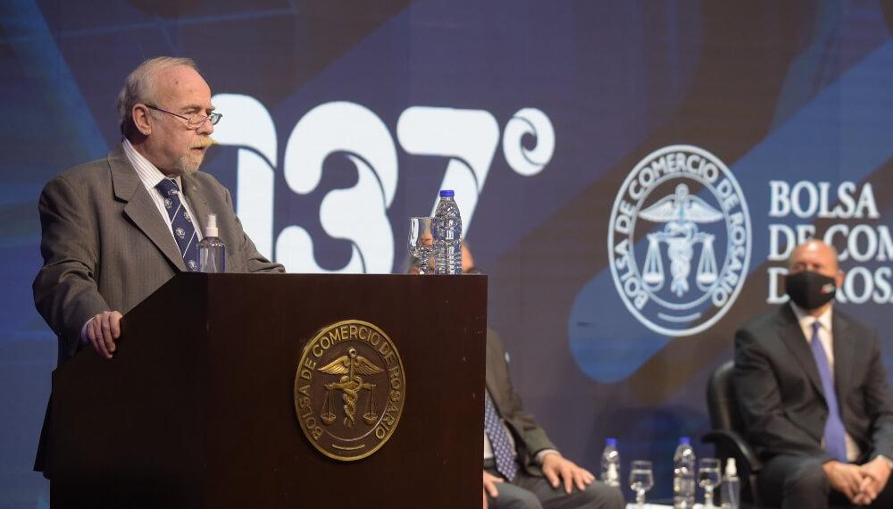 Discurso del presidente de la Bolsa de Comercio de Rosario