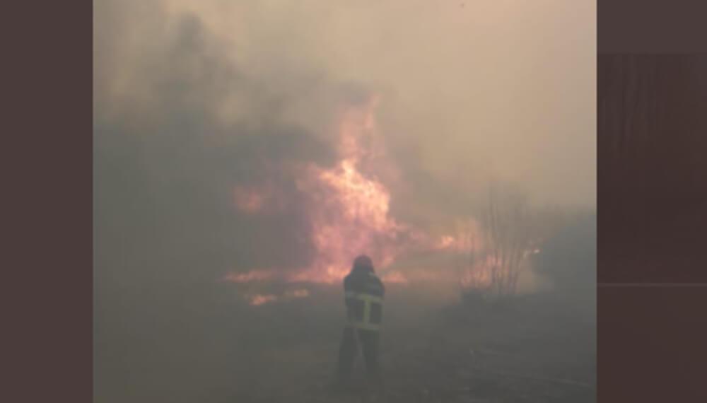 Incendios en San Juan